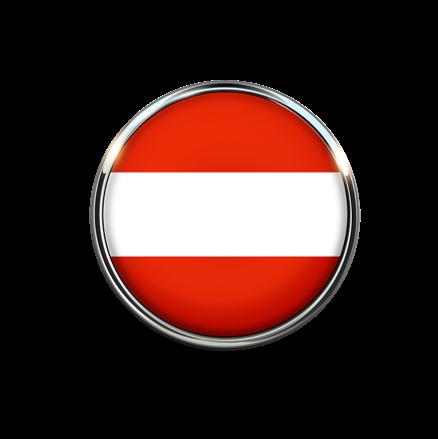 Österreich-Flagge_Rahmen