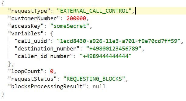 API Routing Control Beispiel