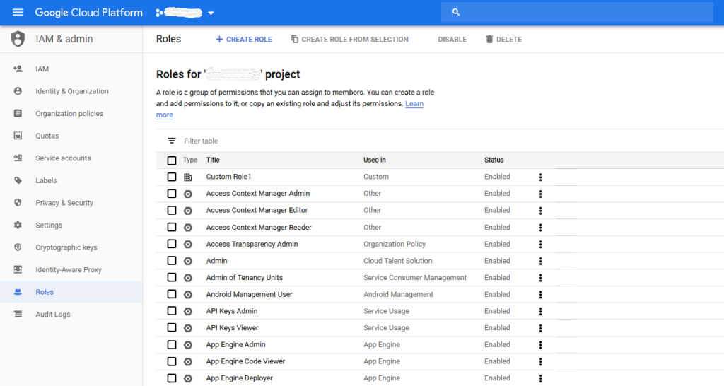 Dialogflow Account Setup - TENIOS