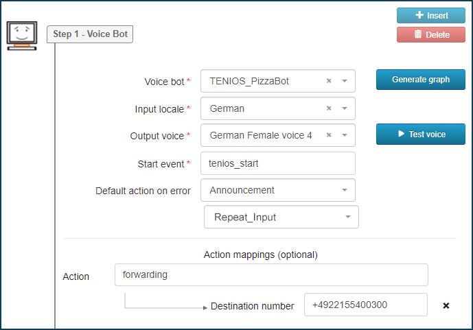 VoiceBots Configuration