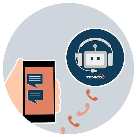 Chatbot trifft Voice TENIOS
