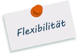 TENIOS ACD Flexibilität