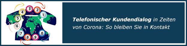Kundendialog Corona