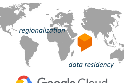 Regionalisierung Dialogflow