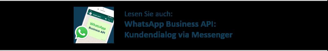 Kundendialog via Messenger