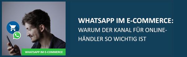 WhatsApp im E-Commerce