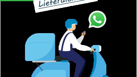 Whatsapp für Lieferdienste