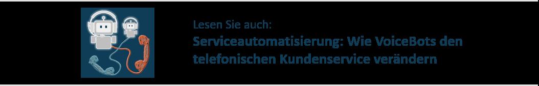 Link Artikel Serviceautomatisierung