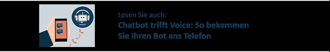 Chatbot trifft Voice