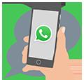 Messaging Sprechblase Hand